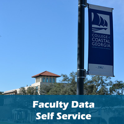 Faculty Data Self Service