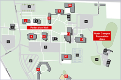 Brunswick Campus Study Map
